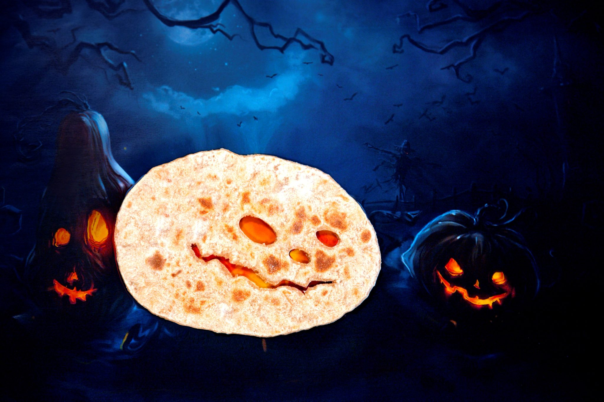 Chapatti Inspired Halloween from Elephant Atta