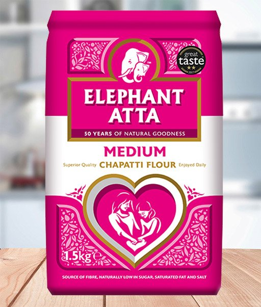 1.5KGMedium Elephant atta
