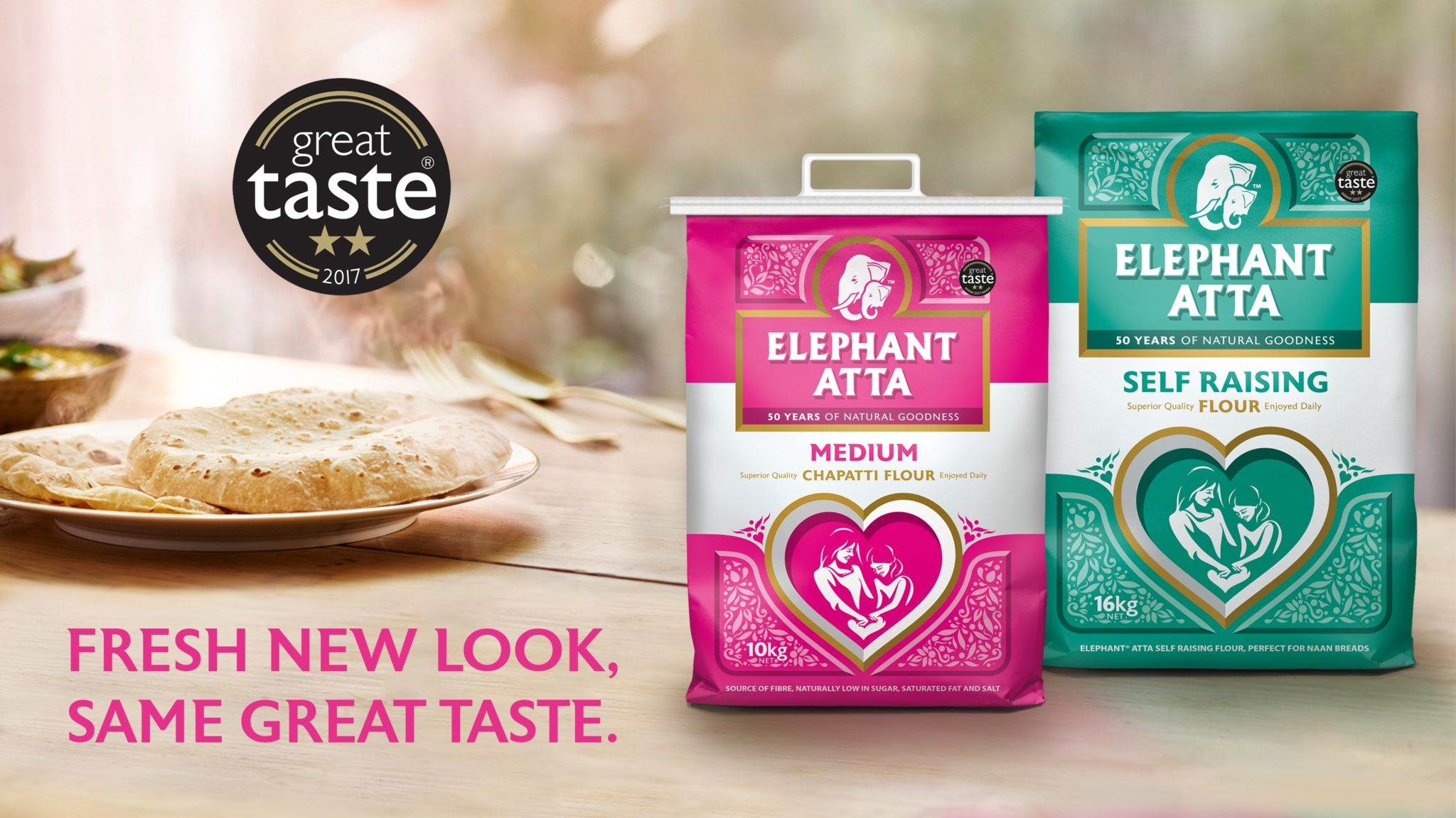 Elephant Atta: Fresh New Look, Same Great Taste