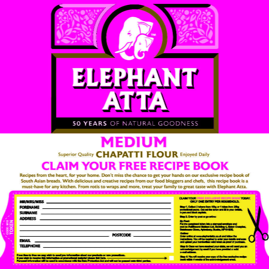 Cooking Book Elephant Atta Pack